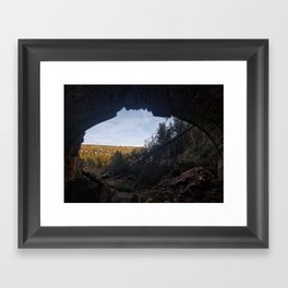 Ruinas Framed Art Print