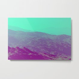Palm Springs Mountains III Metal Print