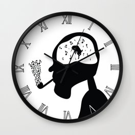 Devil's Dance Wall Clock