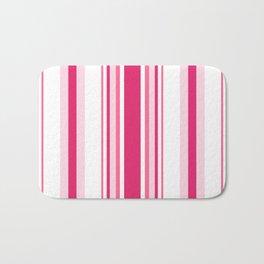 Pink 'alicious Stripes Bath Mat