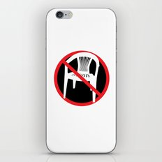 F*ck tha extruded chair! iPhone & iPod Skin