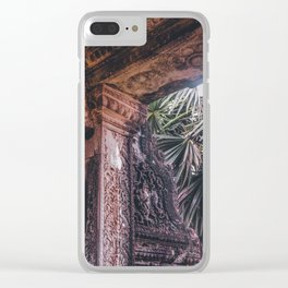Angkor Wat Jungle Clear iPhone Case