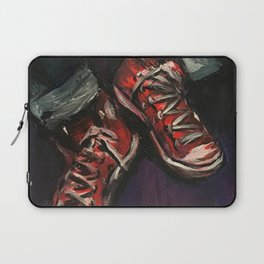 Red Converse Laptop Sleeve