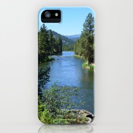 Payette River Scene ~ II iPhone Case