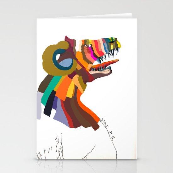 animal  Stationery Cards
