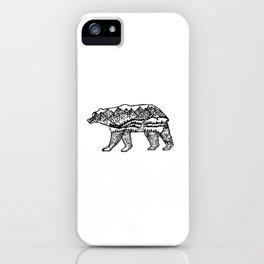 Bear Necessities iPhone Case