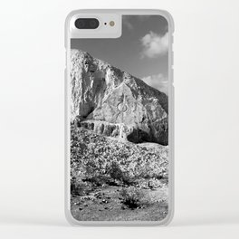 Field of Illusion Clear iPhone Case