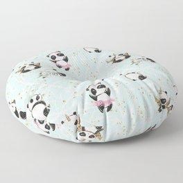Panda Pattern 04 Floor Pillow