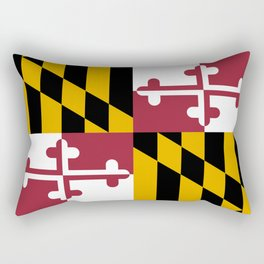State flag of Flag Maryland Rectangular Pillow