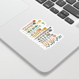 Happy garden Sticker