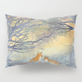 The Two Foxes Pillow Sham