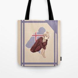 Aph Iceland Illustration Tote Bag
