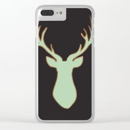 Stag Design Navy Clear iPhone Case