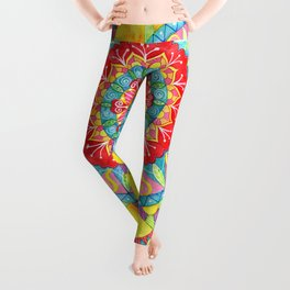 Sun Mandala Leggings