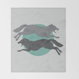 Sons of Fenrir Throw Blanket