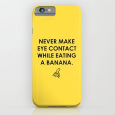 Eating a Banana Slim Case iPhone 6s