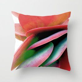 Paddle Plant Throw Pillow
