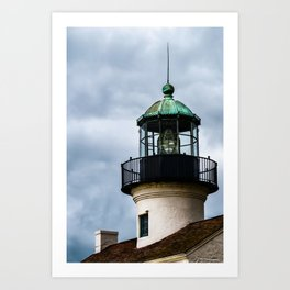 The Tower at Cabrillo Lighthouse Art Print