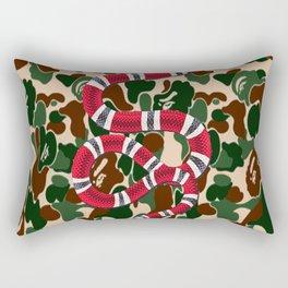 Camp Snake Rectangular Pillow