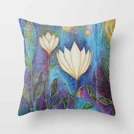 Love and Loss:Rebirth Throw Pillow