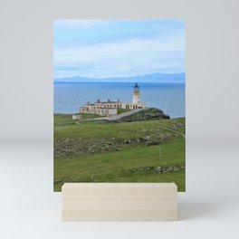 Neist Point Lighthouse, Isle of Skye, Scotland Mini Art Print