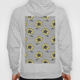 papaya pattern Hoody