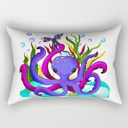 Octopus illustration Rectangular Pillow