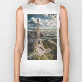Paris is always a good idea Biker Tank
