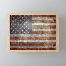 Old Glory, The Star Spangled Banner Framed Mini Art Print