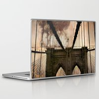 bridge Laptop & iPad Skins featuring Bridge by Daniela Battaglioli