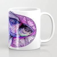 goldfish Mugs featuring Goldfish by Slaveika Aladjova