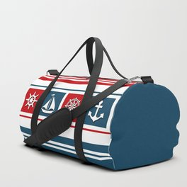 Nautical symbols Duffle Bag