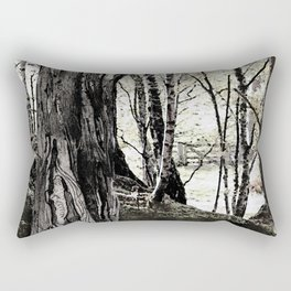 Trees have long thoughts, Rectangular Pillow