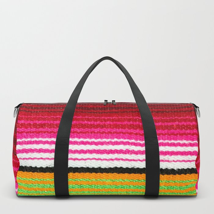 BEAUTIFUL MEXICAN SERAPE Duffle Bag