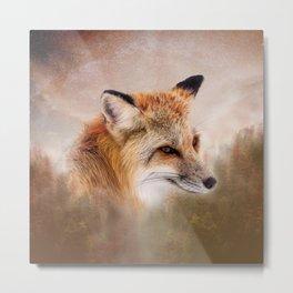 Fox in the wild Metal Print