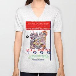 Junxploitation Poster (Kill Prix:1999) Unisex V-Neck
