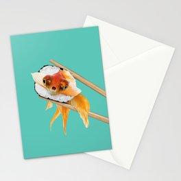 GOLDFISH SUSHI Stationery Cards