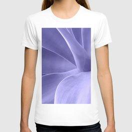 Periwinkle Succulent T-shirt