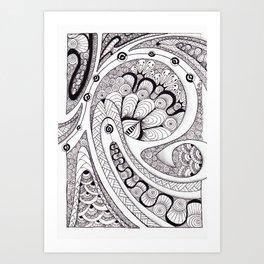 Koru 1 Art Print