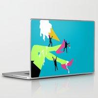 legs Laptop & iPad Skins featuring Legs by Sarah Ramirez