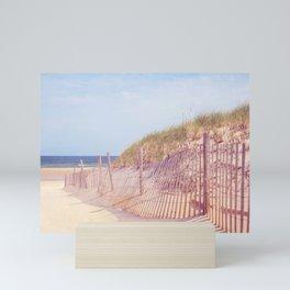 Sea Street Beach Mini Art Print