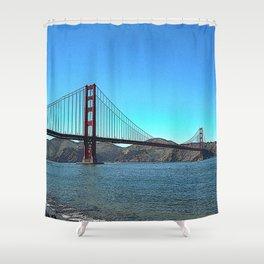 San Francisco Golden Gate Shower Curtain