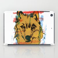 howl iPad Cases featuring HOWL by Galvanise The Dog