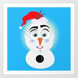 Lolo AlfsToys wants to become in Olaf Art Print