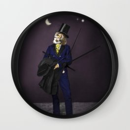 Owl Art - A Night to Remember Wall Clock