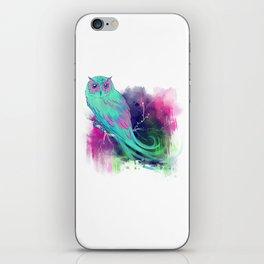 Whimsical Owl iPhone Skin
