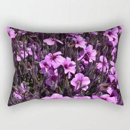 Explosion of Purple (Golden Gate Park) Rectangular Pillow
