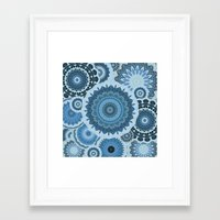 gypsy Framed Art Prints featuring GYPSY by Monika Strigel