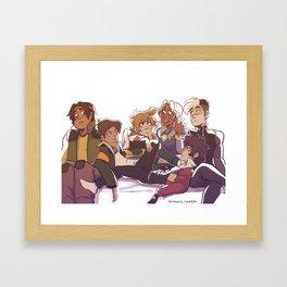 Paladins Pls Framed Art Print