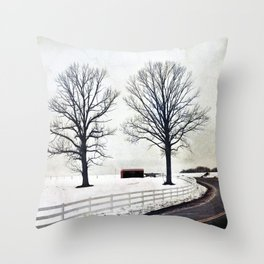 The Bend 2.0 Throw Pillow